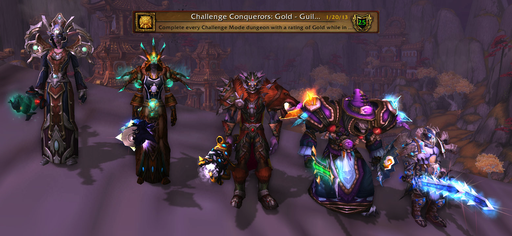 Guild Challenge Mode - Gold completed